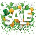 Enjoy the Luck of the Irish with Our St. Pat's Sale!